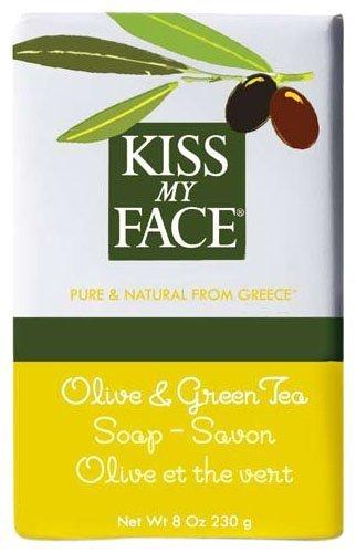 Kiss My Face Moisturizing Bar Soap for All Skin Types - Olive & Green Tea - 8 oz 100814