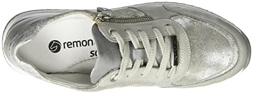 Remonte Dames Dames Veterschoenen Whitelightblue / Shark / Dust / Steel Whitelightblue / Shark / Dust / Steel