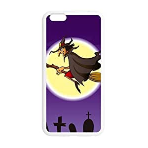 Happy Halloween flying witch Case for Iphone 6