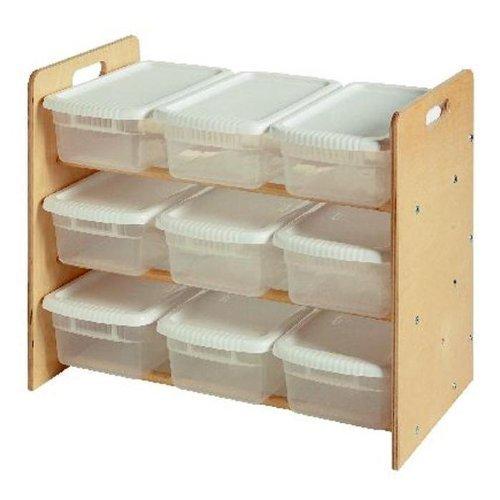 OKSLO Nine bin toy organizer by - ()