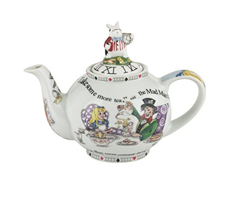 Hall Coffee Pot (Cardew Design Alice in Wonderland 2-Cup Teapot,)