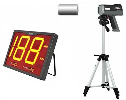 Bushnell Speedscreen Sports Kit Bushnell SpeedScreen Radar Gun Display 101922, Speedster 3 Radar by Bushnell