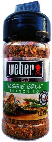Weber Veggie Grill Seasoning, 2.25 oz (Pack of 2)