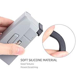 Webla 3Pcs Spina Di Polvere Della Batteria Cover Protettiva In Silicone Per Dji Mavic Air 2 3 spesavip