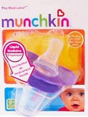 Baby Medicine Bottle (Munchkin The Medicator - Colors May Vary (Pack of 2))