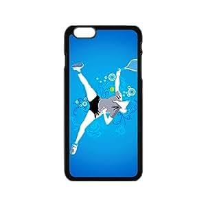 Blue Play Tennis Graffiti Pesonalized Design BestSeller Fashion Custom Phone Case For Iphone 6