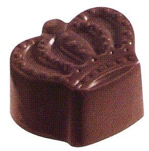 Silicone Bakeware Molde de Silicona Profesional para Chocolate con Forma de Corona, policarbonato, 27,5 x 13,5 x 2,4 cm, 24 Unidades: Amazon.es: Hogar