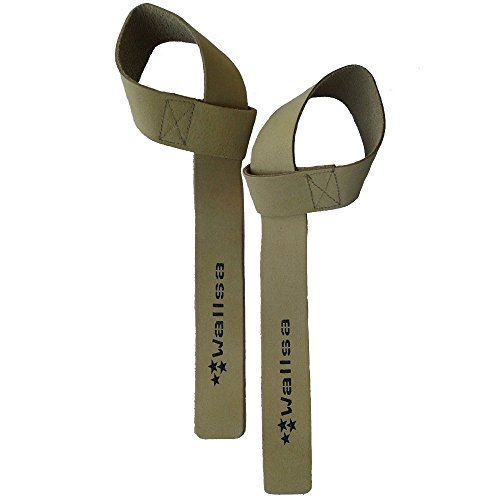 Wallsa Leather lifting straps (Natural)