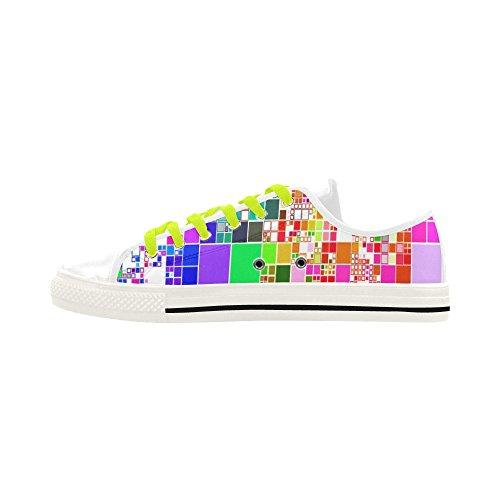 D-story Custom Squared Obsession Apus Slip-on Microfiber Zapatos De Hombre