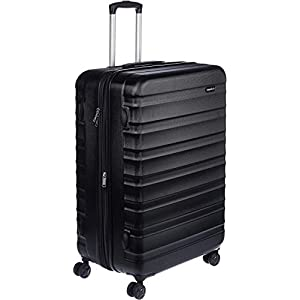 Trolley Duffle Bags Online Amazon Basics 78 cm Black Hardsided