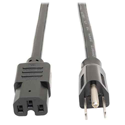 (Tripp Lite Heavy Duty Power Cord, 15A, 14AWG (NEMA 5-15P to IEC-320-C15) 8-ft.)