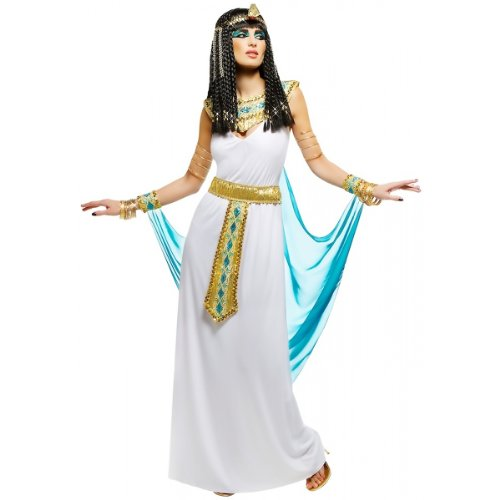 Queen Cleopatra Costume -  White Small]()