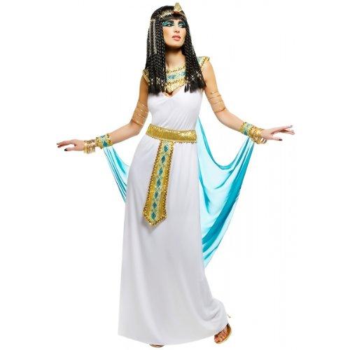 Queen Cleopatra Costume -  White Medium