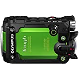 Olympus TG-Tracker with 1.5-Inch LCD (Green) - International Version (No Warranty)