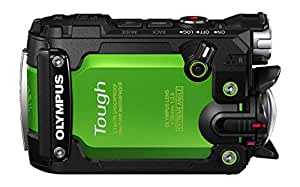 """Olympus TG-Tracker - Cámara de acción de 7.2 MP (Pantalla abatible de 1.5"""", GPS, WiFi, estabilizador de 5 Ejes, Video 4K), Color Verde"""