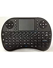 Mini wireless Arabic keyboard with mouse compatible with all computers and Google TV