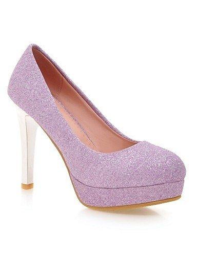 ShangYi Chaussures Femme - Mariage / Bureau & Travail / Soirée & Evénement - Bleu / Violet / Argent / Or - Talon Aiguille - Talons - Talons - Blue rUpwGWQfS