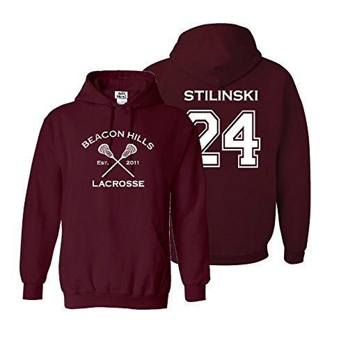 Adult Teen Stilinski Lacrosse Hoodie product image