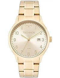 c4709c90175c8 Relógio Technos Feminino Ref  2115mnl 4x Casual Dourado
