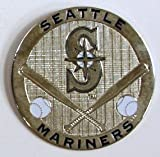 Seattle Mariners Round Metal Magnet