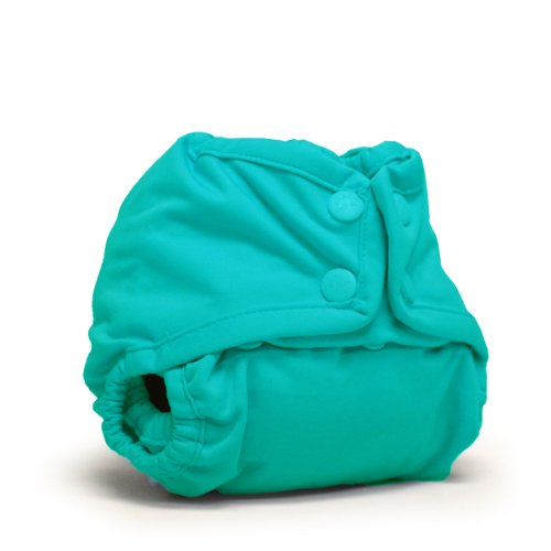 Rumparooz Newborn Cloth Diaper Cover Snap, Peacock