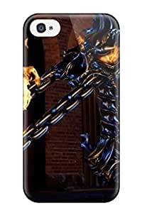 Crystal R Martin Case Cover For Iphone 4/4s - Retailer Packaging 3d Blue Thorns Protective Case
