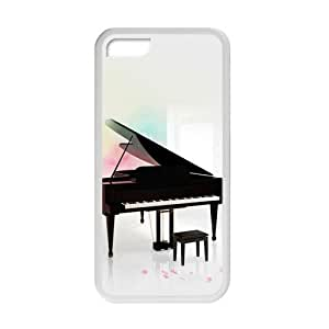 Welcome!Iphone 5C Cases-Brand New Design Music Piano Printed High Quality TPU For Iphone 5C 4 Inch -06