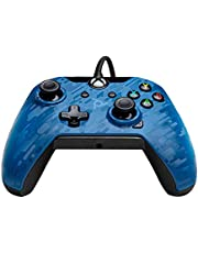 PDP Gaming Wired Controller: Revenant Blue - Xbox, 048-082-NA-CM02