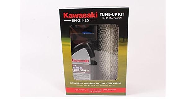 Amazon.com : Genuine Kawasaki Engine Tune Up Kit for FX751V / 801V / 850V Engines - 99969-6420 - 20W-50 Kit : Garden & Outdoor