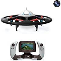 Special UFO Rc Drones With Camera Live Video And Screen On The Remote Control For Beginners FPV Rc Quadcopter with Camera For Kids