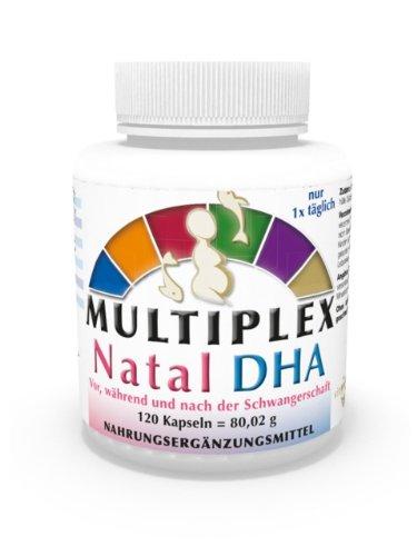 Complejo Multivitamínico Prenatal DHA 120 Cápsulas Omega 3 + Vitaminas Vita World: Amazon.es: Salud y cuidado personal