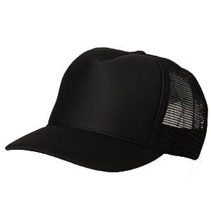 Amazon.com: Blank Plain Mesh Trucker Hat/ Cap-Baseball ...