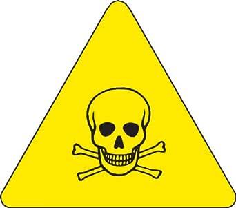 Brady 60194 Etiquetas de advertencia de vinilo sensibles a