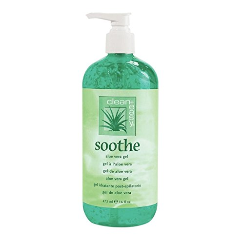 Clean + Easy Soothe Aloe Vera Gel, 16 Fluid Ounce