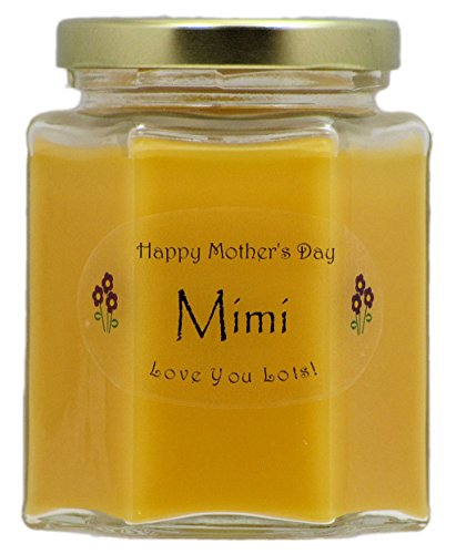 Just Makes Scents Mimi Mothers Day Candle - Mango Papaya Scented Mothers Day Gift Candle - Hand Poured in the USA by