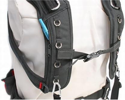 Black Portabrace AH-3H-MEMM Audio Harness with Memory Foam and Medium Belt