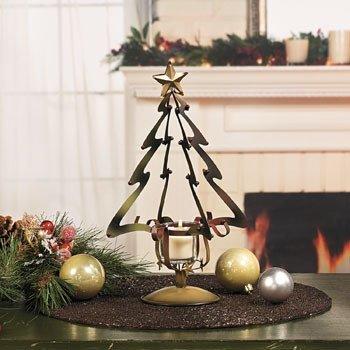 Christmas Tree Candle Holder.Amazon Com Christmas Tree Votive Candle Holder With Star
