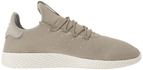 adidas Originals Men's Pharrell Williams Tennis HU Running Shoe Tech Beige/Chalk White, 4 Medium US by adidas Originals (Image #7)