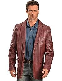 Men's Lamb Leather Blazer Regular - 501-189