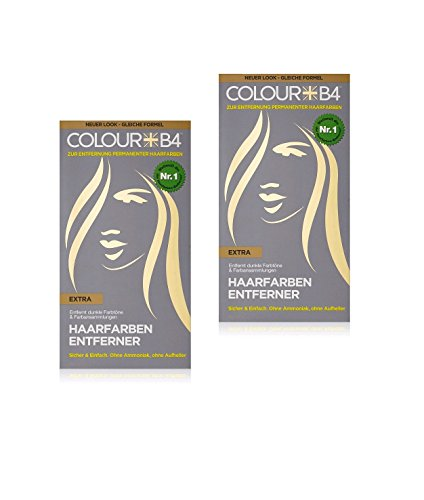 Colour B4 Extra Haarfarben-Entferner, 1er Pack (1 x 180 ml): Amazon ...