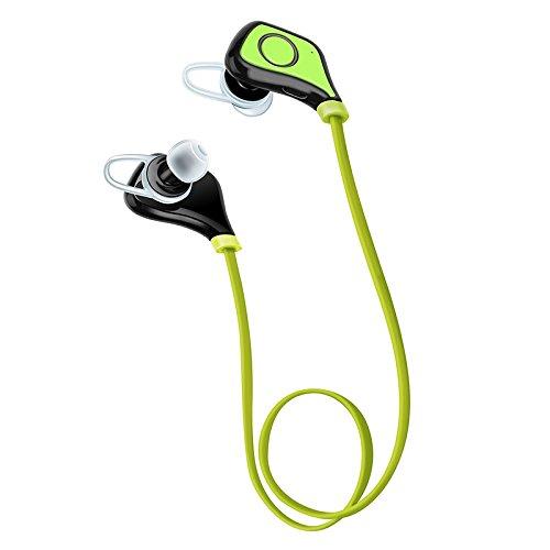 Vuage(TM) マイクステレオイヤホンHDサウンドFone社デOuvidoでBluetoothヘッドセットヘッドセット低音イヤホンスポーツワイヤレスヘッドフォン B07BS39D2P 緑 緑