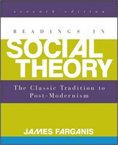 Amazon readings in social theory 9780078026843 james readings in social theory 7th edition fandeluxe Choice Image