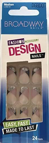 Broadway Fashion False Medium Length Nails DGBD07 Hottie