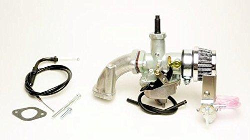 クリッピングポイント製 ビッグキャブ22Φ&クリーナーキット(ビッグバルブヘッド用) 適合:6Vダックス50   B078SPP9L5