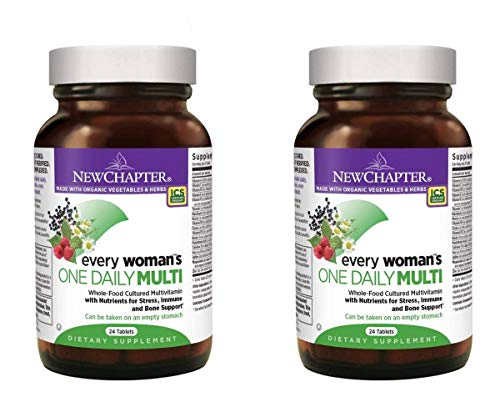 New Chapter Every Woman's One Daily Multi Complete Whole-Food Multivitamin as a Dietary Supplement (24 Vegetarian…