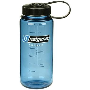 Nalgene Tritan Wide Mouth 16 oz. Water Bottle - Slate/Black