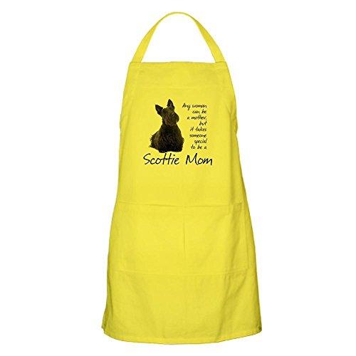 CafePress Scottie Mom Kitchen Apron with Pockets, Grilling Apron, Baking Apron