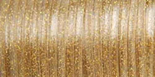 Pepperell Rexlace Plastic Lace, 0.0938-Inch, Gold Sparkle