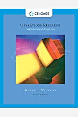 Operations Research: Applications and Algorithms (with CD-ROM and InfoTrac) Hardcover