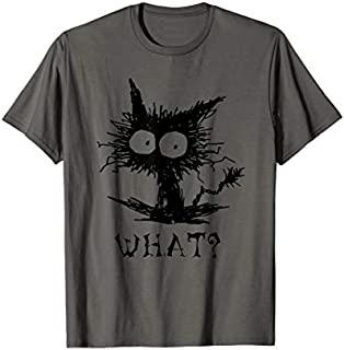 What? Funny Cute Cat  Gift For Women Men T-shirt | Size S - 5XL
